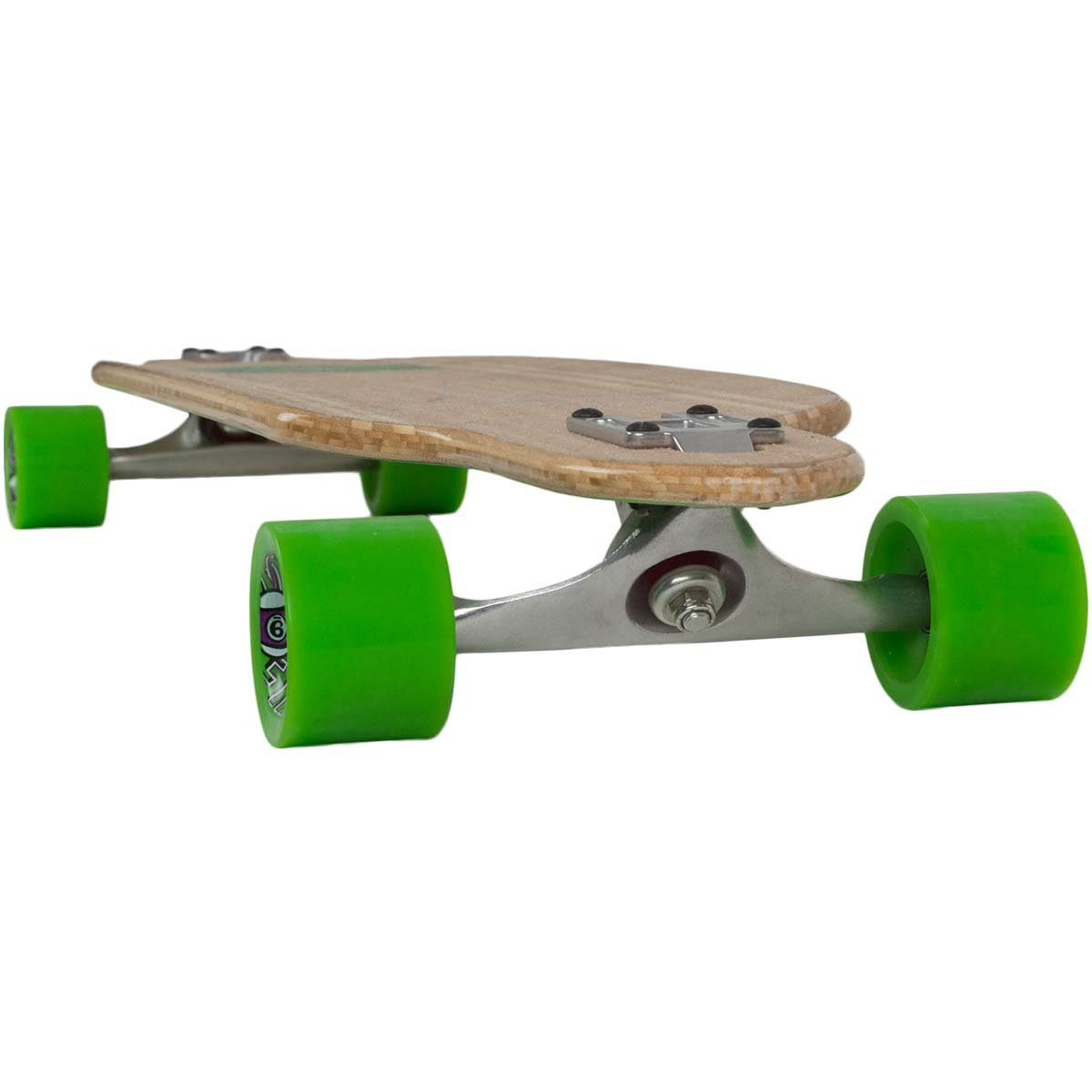 Sector 9 Drop-Thru Bamboo LookoutII Green Wave Complete Downhill Longboard