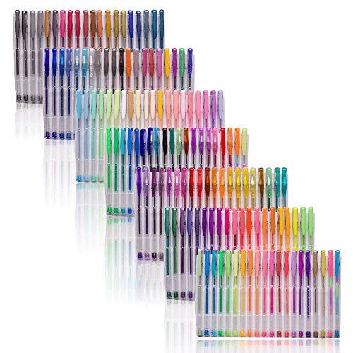 Smart Color Art 140 Colors Gel Pens Set