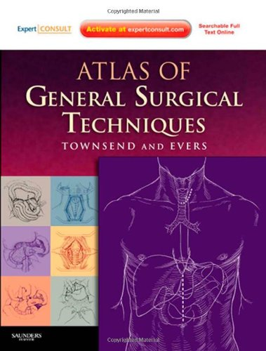 Atlas of General Surgical Techniques: Expert Consult – Online and Print, 1e