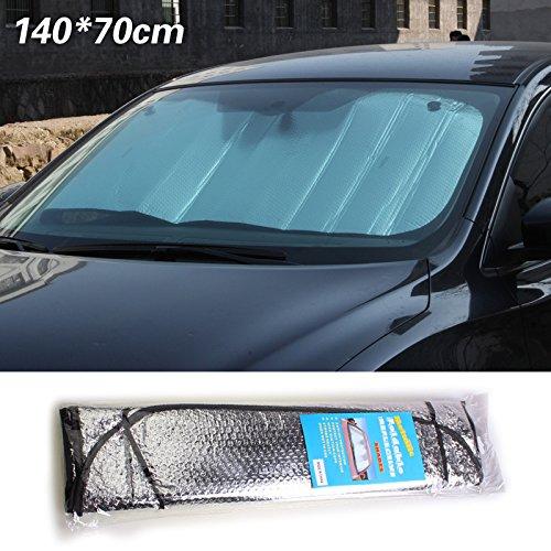 WDOIT 1PCS Car Sun Block aluminum double-sided aluminum foil Sun Block 140/* 70/cm