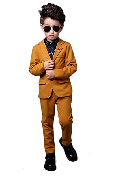 Amazon.com: yufan Boys Amarillo tuberías de Blazer ...