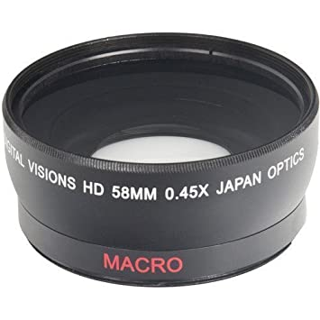 Review 58MM Wide Angle 0.45x