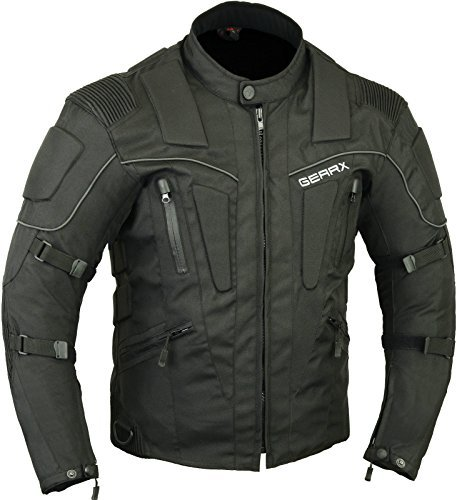 Storm Motorbike Motorcycle Protection Jacket Water Repellent with airvents, M