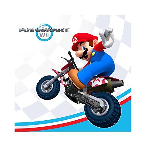 Mario Kart Girls Costumes For (Mario Kart Wii Beverage Napkins)