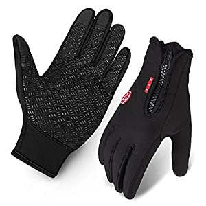 Amazon.com : Cycling Gloves, Waterproof Touchscreen in