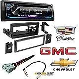 JVC KD-RD99BTS 1-Din CD Receiver Featuring BT/USB/13-Band EQ Car Radio 1995-2002 Chevrolet Silverado TRUCK Radio Dash Kit+Harness+Adapter