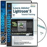 Adobe Photoshop Lightroom 5 Tutorial & Adobe Photoshop CS6 Training Bundle on 5 DVDs