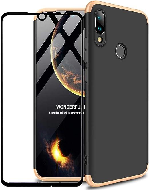 YFXP Xiaomi Redmi Note 7 Funda - Funda Xiaomi Redmi Note 7 360 ...