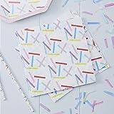 Paper Napkins Rainbow Party Birthday Party Baby Shower 1st Birthday 6.5'' Rainbow Sprinkles Pk 32