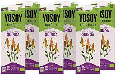 Yosoy - Bebida Ecológica de Quinoa con Arroz - Caja de 6 x 1L ...