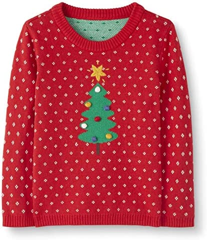 Moon and Back by Hanna Andersson Baby// Toddler 100/% Organic Cotton Holiday Sweater