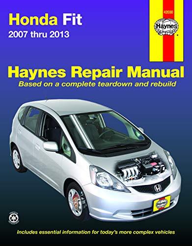 - Honda Fit 2007 thru 2013 (Haynes Repair Manual)