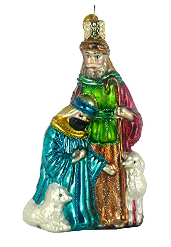 Old World Christmas Nativity Collection Glass Ornaments Set of 9 14020 by Old World Christmas (Image #5)