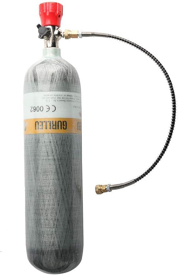PCP Air Rifle 6.8L DOT 4500Psi Carbon Fiber Cylinder Scuba Tank Refill Sets 2020
