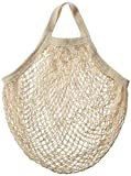Eco-Bags Products String Bag Tote Handle Natural, Organic Cotton