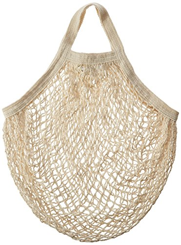 (Eco-Bags Products String Bag Tote Handle Natural, Organic Cotton)