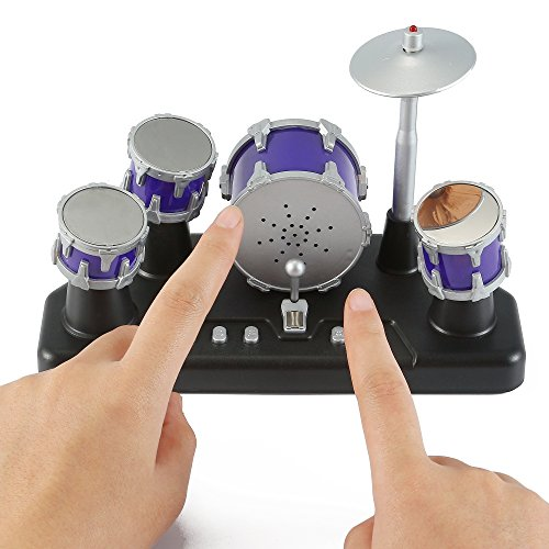 Liberty Imports Electronic Mini Finger Drum Desktop Novelty Set