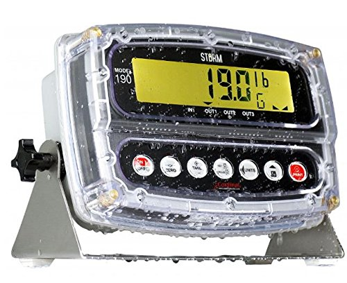 Detecto 190 STORM IP69K Legal for Trade Indicator NTEP Washdown Readout New