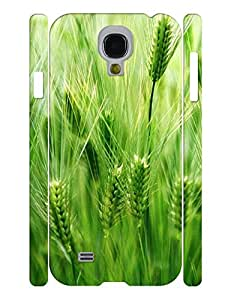 Dramatic Green Series Plant Pattern Hard Plastic Phone Accessories Skin for Samsung Galaxy S4 I9500 Case
