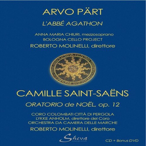 LAbbe Agathon / Oratorio de Noel - CD & bonus DVD: Arvo Part / Camille Saint-Saens, none: Amazon.es: Música