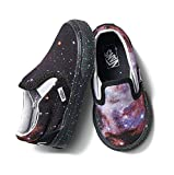Vans X NASA Space Voyager Classic Slip-On Shoes Toddler Kids (12.5 M US Little Kid) Black