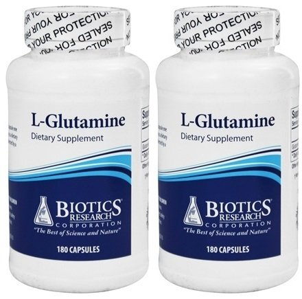 Biotics Research L Glutamine 180 capsules
