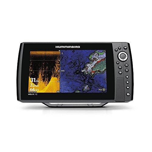 Humminbird 410110-1 Helix 10 Chirp Di GPS G2N Fishing Charts & Maps (Humminbird Helix 10 Mega Si G2n Gps)