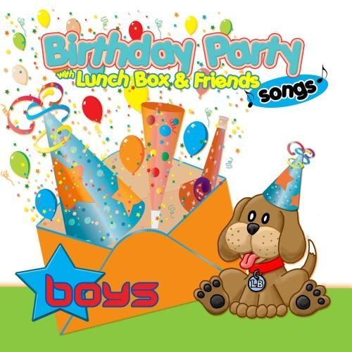 Birthday Party Songs for Boys with Lunchbox and his Friends - Happy Birthday Songs for Children by Personalized Kid Music ()
