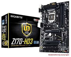 GIGABYTE LGA 1151 Z170 HDMI 2-Way CrossFire ATX DDR4 Motherboards GA-Z170-HD3