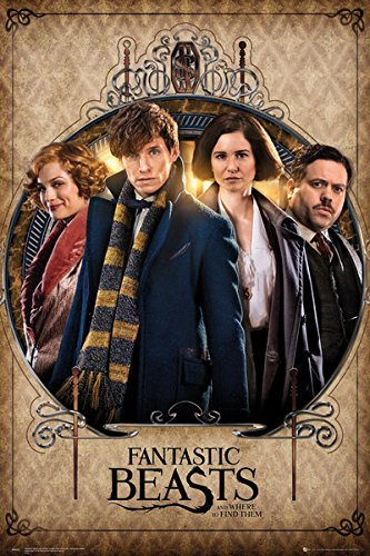 amazon com fantastic beasts and where to find them movie poster