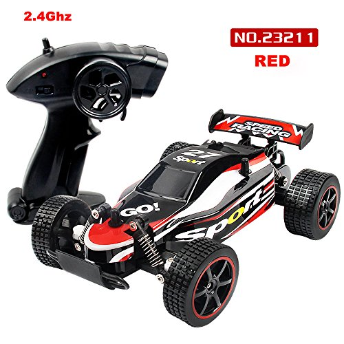 (Ketteb Baby Toys 1:20 2.4GHZ 2WD Radio Remote Control Off Road RC RTR Racing Car Truck RD)