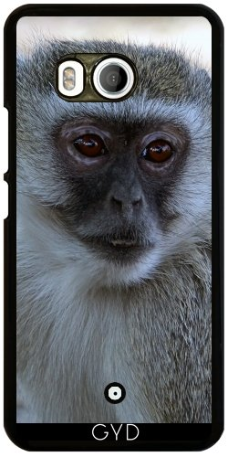 Funda para Htc U11 - África Mono De Animales Mamíferos by Grab My Art