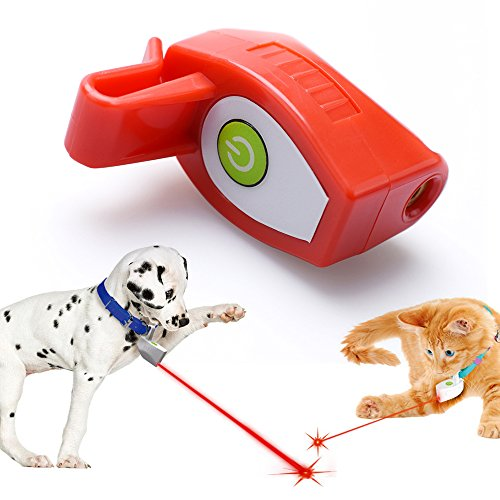 30%OFF Funnyout New Pet Collar Laser Light Red, Tease Cat Toys, Collar