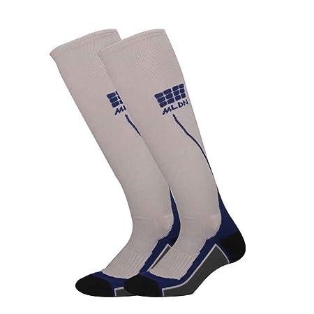 93e3153e64d Lidahaotin 1 Pair Professional Marathon Powerlifting Socks Breathable  Deodorization Functional Football Socks for Men Women white blue grey:  Amazon.co.uk: ...