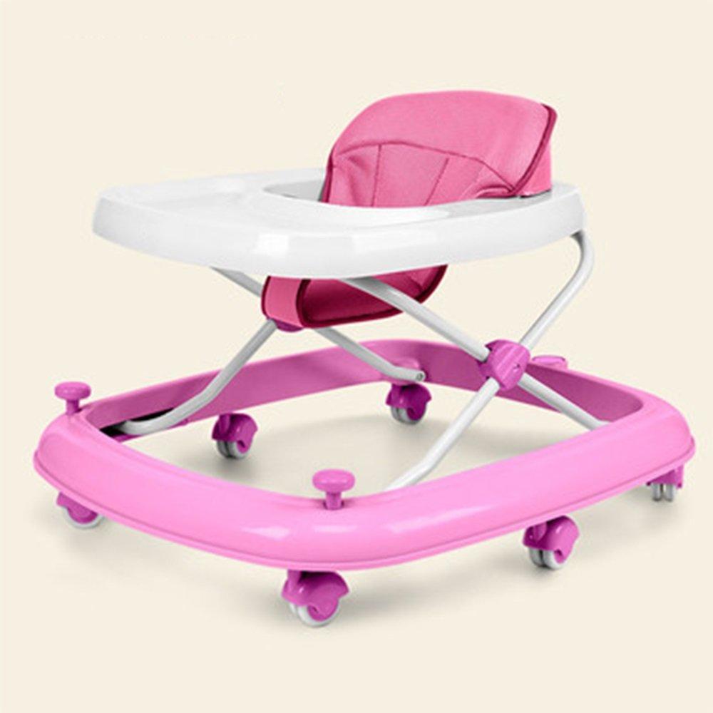 LVZAIXI 3 en 1 Baby Walker ( Color : Pink )