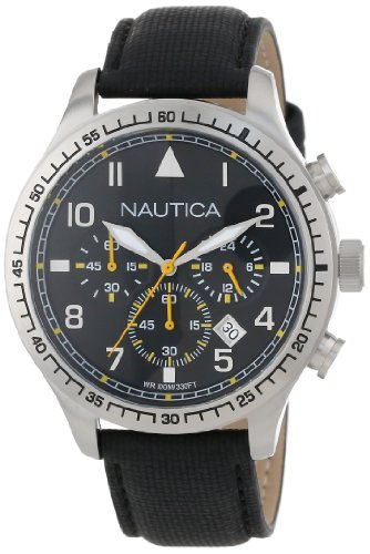 Nautica Unisex N16577G BFD 105 Stainless Steel Chronograph Watch