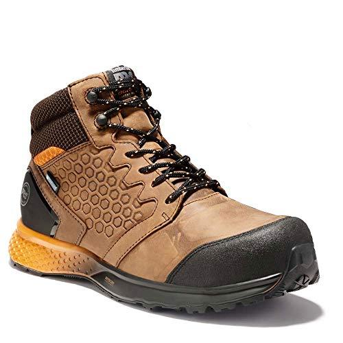 Timberland PRO Men's Reaxion Athletic Hiker Composite Toe Work Boot Industrial, Brown/Orange