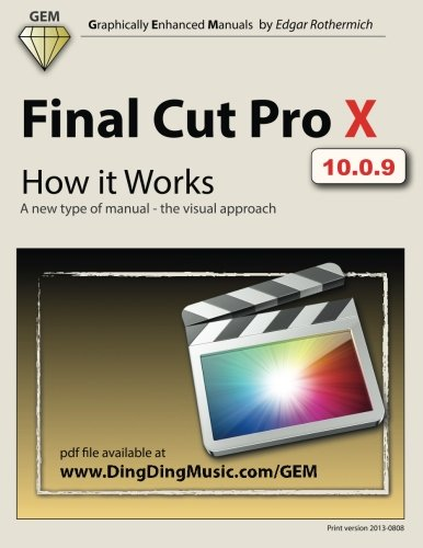 - Final Cut Pro X - How it Works: A new type of manual - the visual approach (Graphically Enhanced Manuals)
