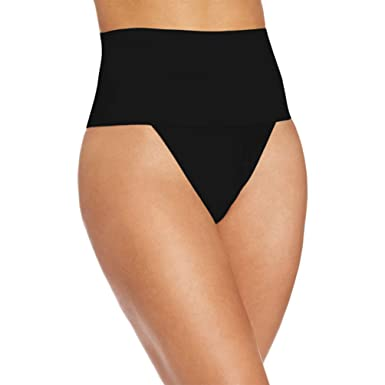 20a54e02adb06 Zarbrina Thong Shapewear for Women Waist Cincher Girdle Tummy Slimmer Sexy  Thong Seamless Underwear at Amazon Women s Clothing store