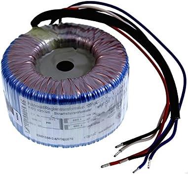 Transformador toroidal 100VA 230V -> 2x12V / 1x24V ; Sedlbauer, RSO-825026