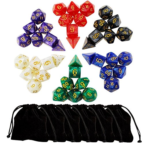 Outee Polyhedral Dungeons Dragons Pouches product image