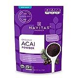 Navitas Organics Acai Powder, 4 oz. Bag - Organic, Non-GMO, Freeze-Dried, Gluten-Free