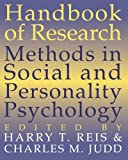 img - for Handbook of Research Methods in Social and Personality Psychology (2000-03-13) book / textbook / text book
