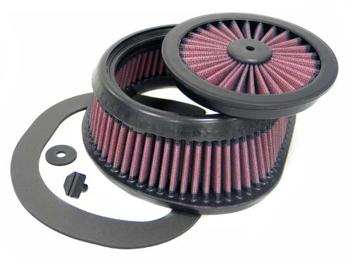 YA-4503 K&N Replacement Air Filter fits YAMAHA WR250F/WR450F 03-09 (Powersports Air Filters)