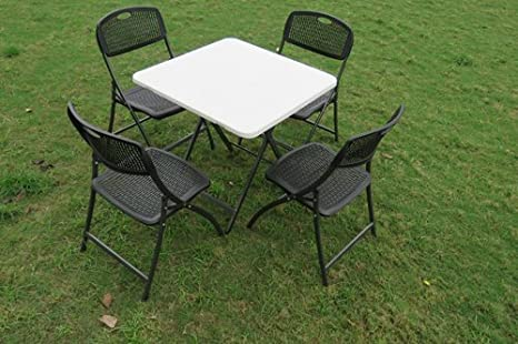 Buy Amaze Folding Garden Dining Table Restaurant Table Food