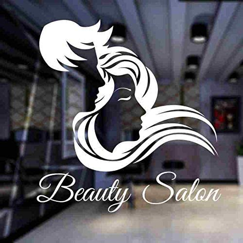 yiyiyaya Unisex Hair Salon Sticker Peluquería Salón de Belleza ...