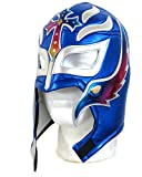 rey mysterio mask red - Rey Mysterio Lucha Libre Wrestling Mask (pro-fit) Costume Wear- Royal - Multi