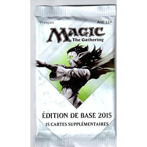 Magic The Gathering - Edition de base 2015 - Booster de 15 cartes supplémentaires - Français
