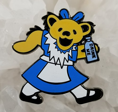 - Grateful Dead Alice in Wonderland Alice Bear Enamel Hat Pin Limited Edition Numbered Festival Pin Grateful Dead Pin Dab Pin Disney Pin