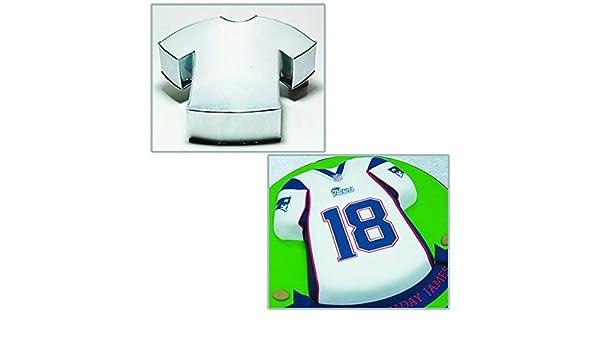 Euro Tins Novelty Cake Pans T-Shirt camiseta de fútbol moldes de fiesta de cumpleaños para tartas 35 cm por Euro latas: Amazon.es: Hogar